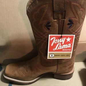 TONY LAMA WOMENS HONEY SIERRA BOOT SIZE 6B 💓💝